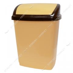 Bucket plastic envelope of 16 l. (beige-brown)