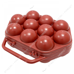 Tray for eggs on 10 pieces.