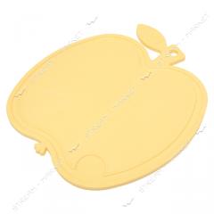 Color chopping board plastic 22х20 (apple)
