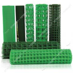 Сетка пластиковая Забор ячейка 10х10мм 1х20м...