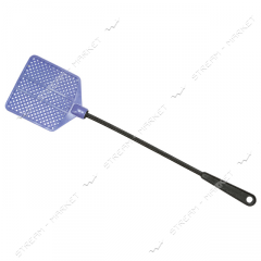 The fly swatter rubberized