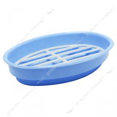 Soap tray plastic color oval