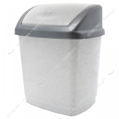 Bucket plastic envelope of 5 l. (white marble)