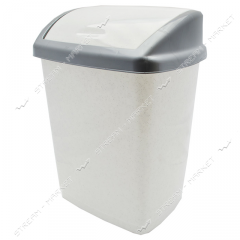 Bucket plastic envelope of 16 l. (white marble)
