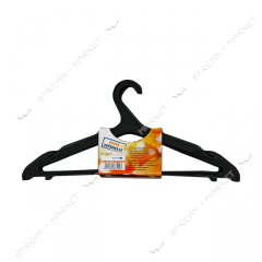 Hanger for clothes of plasticity
