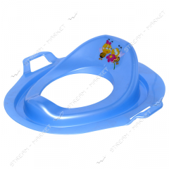 Seat plastic for a toilet bowl children's