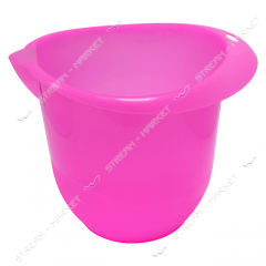 Mixer bowl of 3 l of plasticity