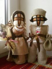 Doll - a motanka Nikolay and Anna