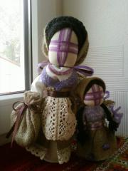 Кукла-мотанка Мария и Дария