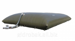 Gas-holder pillow for biogas installations 15 of