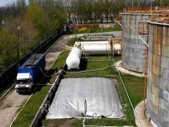 Мягкий газгольдер - подушка для биогазовых установок 30м3