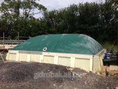 Flexible gas-holder for biogas installations 60 of