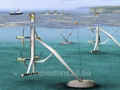 Innovation: Wave power installation