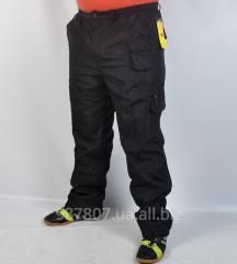 Спортивные штаны плащёвка на меху