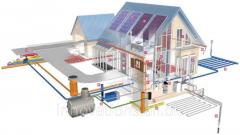 Инновация: Энергоэффективный дом с гелиосистемой