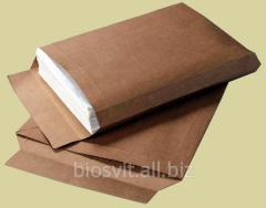 Envelope package paper Kraft with expansion s4 skl