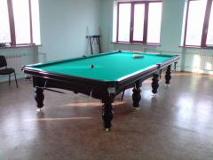 Billiard table to the private house