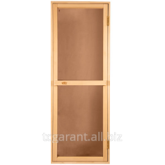 Doors for baths and saunas