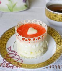 Strawberry with Cream in White Chocolate cake, 85