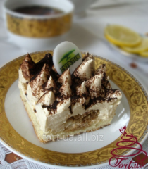 Пирожные на заказ «Tiramisu»