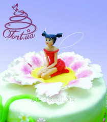 Jewelry for children's cakes - figures from