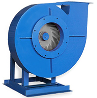 Fan of a high pressure of VTs 10-28 (BP 200-28, BP