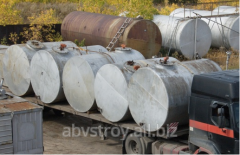 Capacities (tanks) steel horizontal second-hand