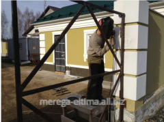Installation of gate