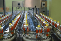 The equipment for production of soft drinks,