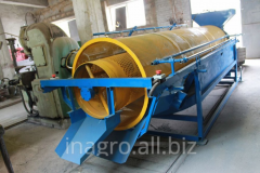Equipment for processing of seeds of pumpkin