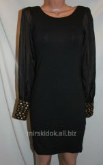 Small black TG dress with air sleeves hs, with
