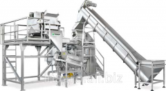 The equipment automatic for production of fruit