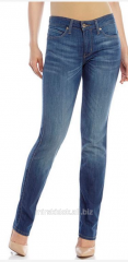 Women's jeans of a pipe stray