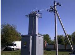 Installation of KTP of 0,4 - 10 kV