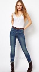 Superutyazhka jeans with high landing levis high