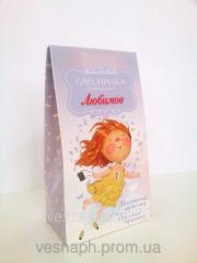 Упаковка картонная для конфет