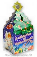Новогодняя упаковка для пищевых продуктов