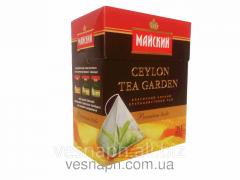 Cardboard packaging for tea