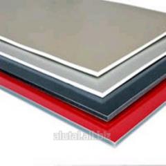 Aluminum composite Profibond 4/0,4 panels of mm G1