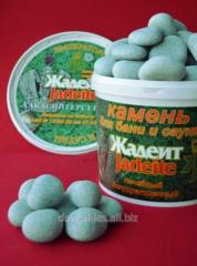 JADEITE (ЖАДЕИТ) камень для саун и бань шлифованный (средний) 20 кг.