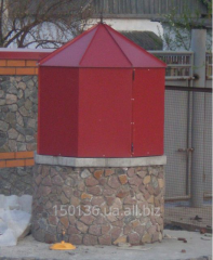 Lodge on well red