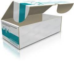 Packaging cardboard for medical devices