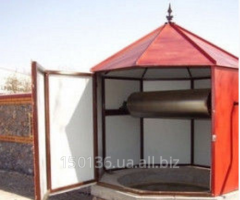 Octahedral lodge for well