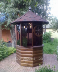 Country wooden well