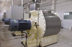 Equipment special for crushing of sugar, spices