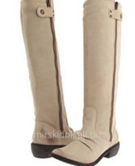 Leather mia boots