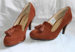 Convenient suede Patrizia Dini shoes