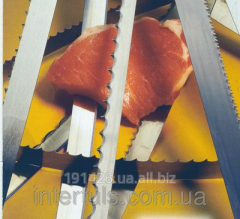 Band saw for the food industry