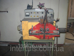 Site for welding of tape saws