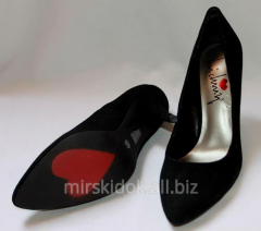 Shoes are branded suede, a shikarn_a the black